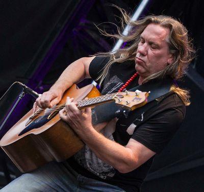 Brian Ritchie of the Violent Femmes performing at Bluesfest on Sunday July 6, 2014. Errol McGihon/Ottawa Sun/QMI Agency