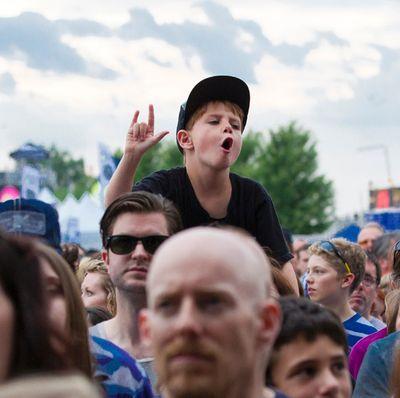 A young Bluefest fan taking in the Violent Femmes on Sunday July 6, 2014. Errol McGihon/Ottawa Sun/QMI Agency