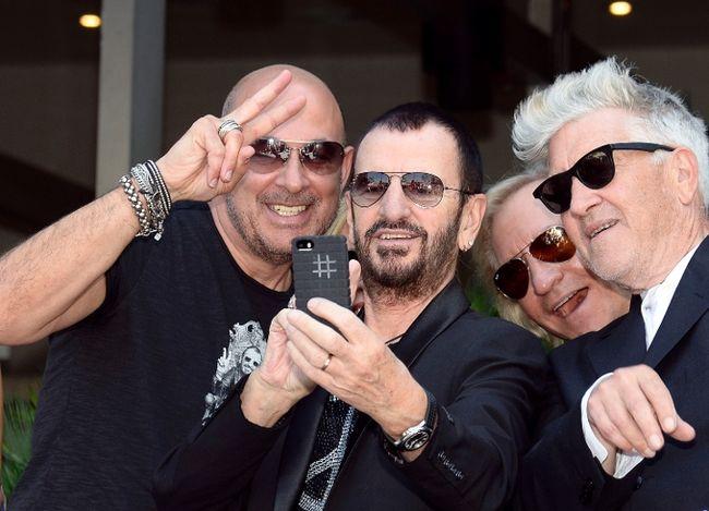 Ringo Starr has teamed up with fashion designer John Varvatos to raise funds for director David Lynch's transcendental meditation foundation. (Reuters)