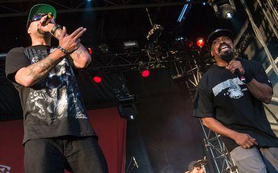 B-Real and Sen Dog of Cypress Hill performing at Bluesfest on Wednesday July 9, 2014. Errol McGihon/Ottawa Sun/QMI Agency