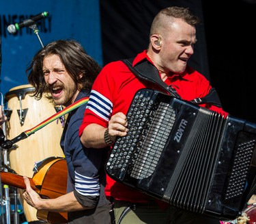 Gogol Bordello performing at Bluesfest in Ottawa on Thursday July 10, 2014. Errol McGihon/Ottawa Sun/QMI Agency
