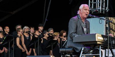 Gary Brooker of Procol Harum with the NAC Orchestra performing at Bluesfest in Ottawa on Thursday July 10, 2014. Errol McGihon/Ottawa Sun/QMI Agency