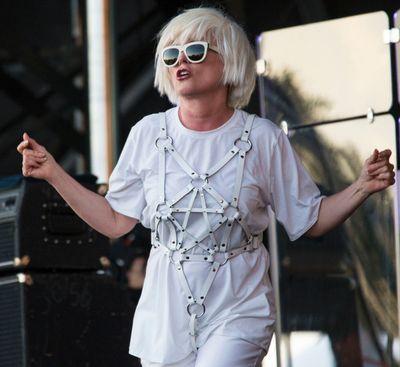 Debbie Harry performing with Blondie at Bluesfest in Ottawa on Thursday July 10, 2014. Errol McGihon/Ottawa Sun/QMI Agency