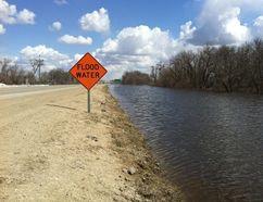 Floods water. (QMI Agency)