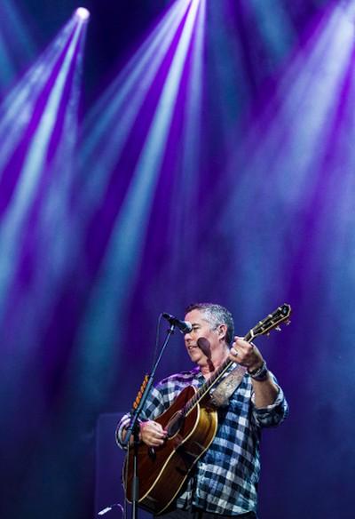 Ed Robertson of the Barenaked Ladies performing at Bluesfest in Ottawa on Thursday July 11, 2014. Errol McGihon/Ottawa Sun/QMI Agency