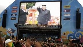 North Korea supreme leader Kim Jong-un, man of the people. (YouTube)