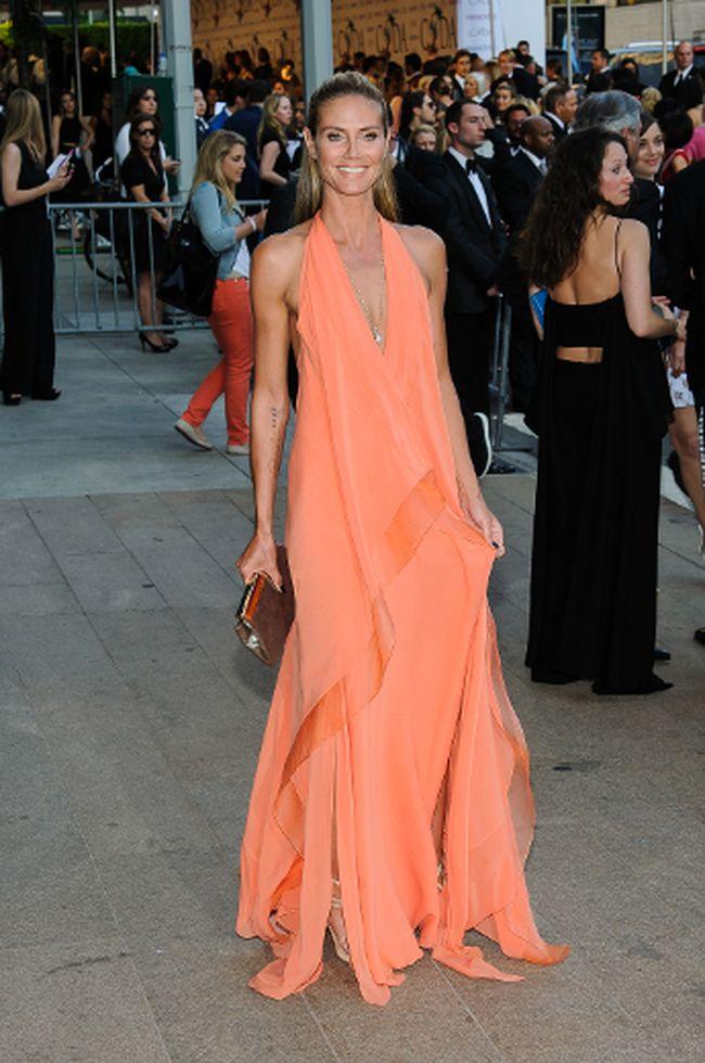 Heidi Klum at the 2014 CFDA Awards. (C.Smith/ WENN.com)