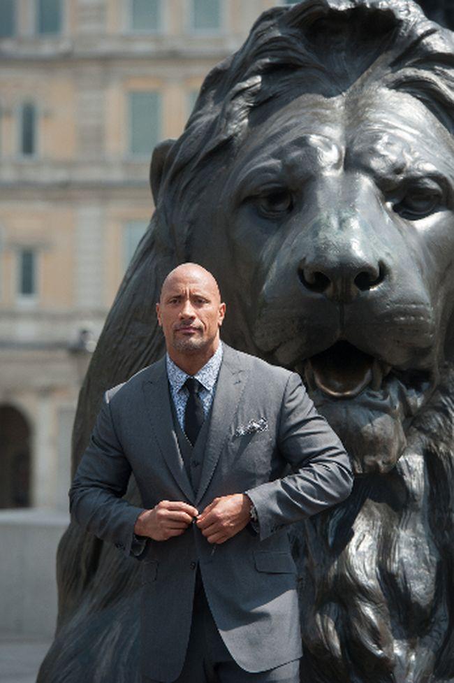 "Dwayne ""The Rock"" Johnson. (<A HREF=""http://www.wenn.com"" TARGET=""newwindow"">WENN.COM</a>)"