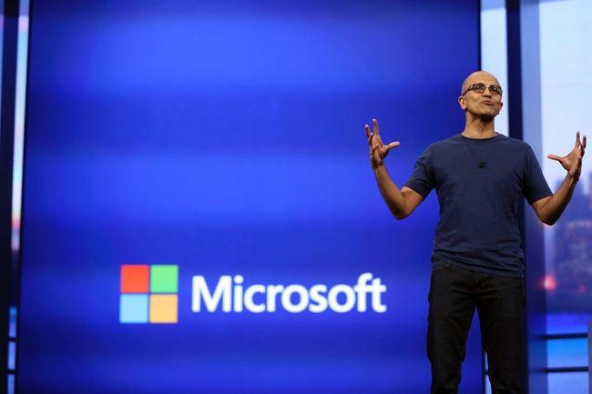 Microsoft CEO Satya Nadella. REUTERS/ROBERT GALBRAITH