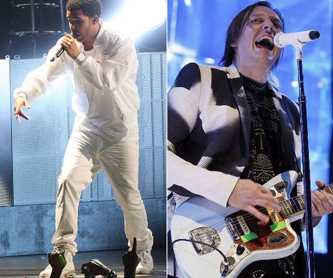 Drake and Win Butler of Arcade Fire (QMI file photos)
