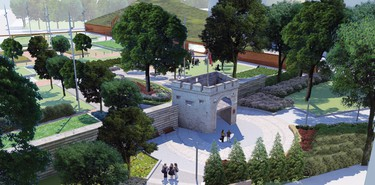 Upper Fort Garry plans_2