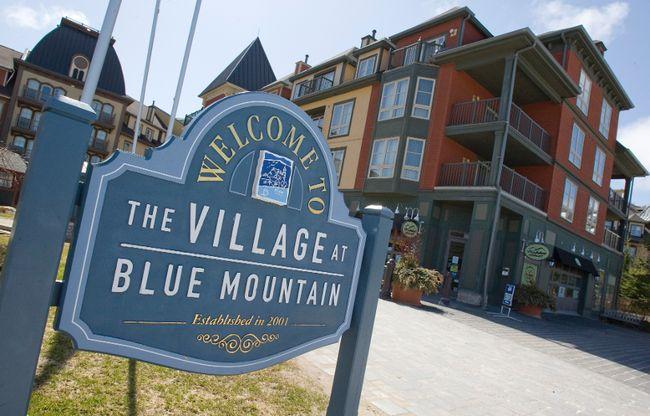 Blue Mountain Resort in Collingwood. (Dave Thomas/QMI Agency)