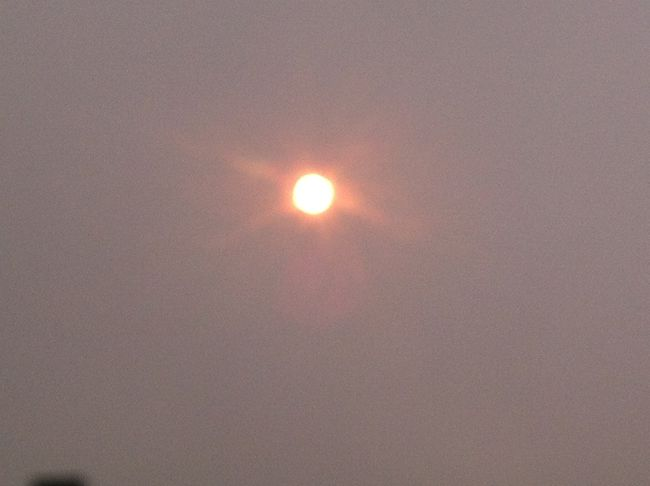 sun smoke