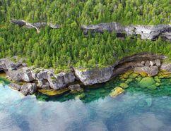 The Georgian Bay coastline (Shari Chambers photo)
