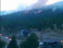 Tallus Ridge wildfire near Kelowna