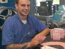 Matt Syntak Kal Tire poker run