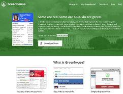 Greenhouse web app. (SCREENSHOT)