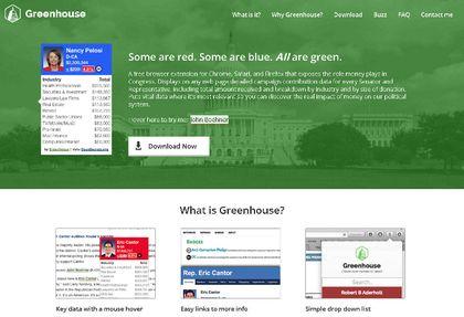 Greenhouse web app
