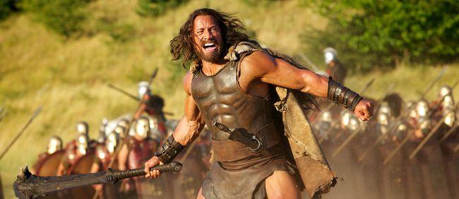 Dwayne Johnson stars as Hercules.