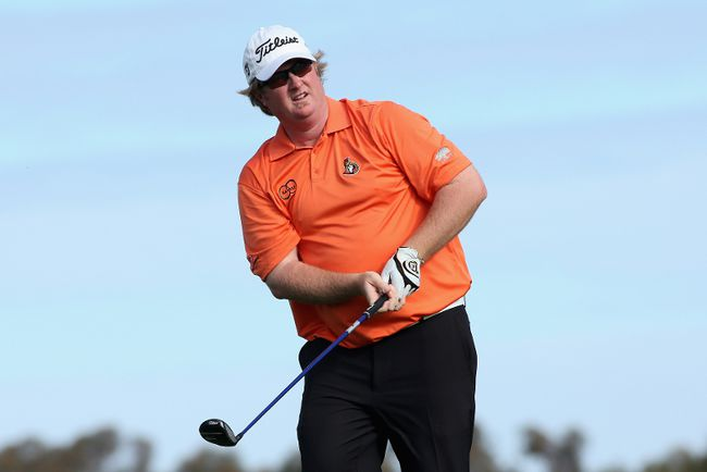 Ottawa golfer Brad Fritsch shot 72-68-67-64 during this weekend's Canadian Open. (AFP)