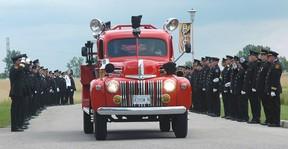Kevin James funeral