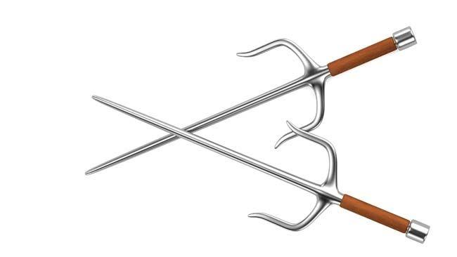 Traditional Asian martial arts weapon Sai. (Fotolia)