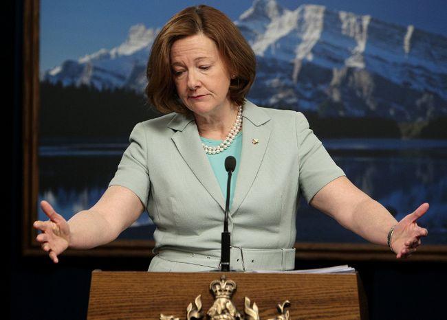 Alison Redford. Edmonton Sun file.