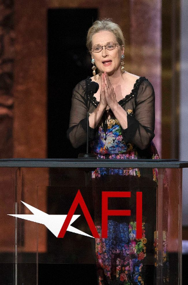 Meryl Streep. REUTERS/Mario Anzuoni