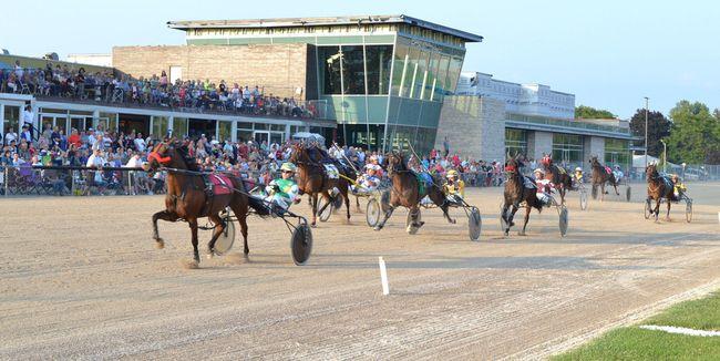 Action at the Hanover raceway. Postmedia files