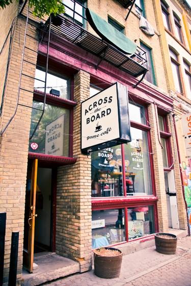 Across The Board game cafe in Winnipeg. (HANDOUT/Leif Norman)