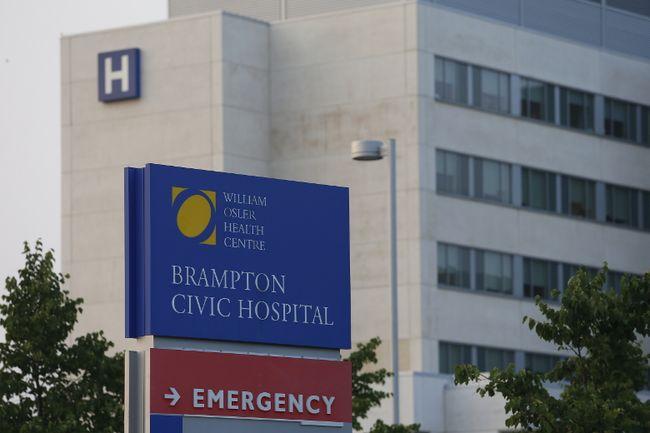 Brampton Civic Hospital (JACK BOLAND, Toronto Sun)