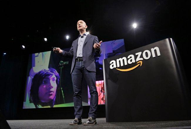 Amazon CEO Jeff Bezos.  REUTERS/Jason Redmond/Files