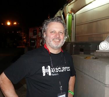Lorry Alcock at Kenora's Harbourfest August long weekend.