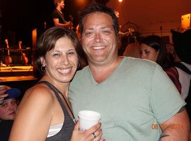 Jenny Langevin and Raine Langevin at Kenora's Harbourfest August long weekend.