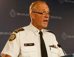 Toronto Police Chief Bill Blair. (Chris Doucette/Toronto Sun)