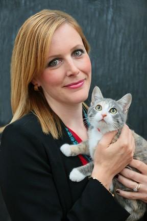 The Edmonton Humane Society's CEO, Miranda Jordan-Smith. SUPPLIED