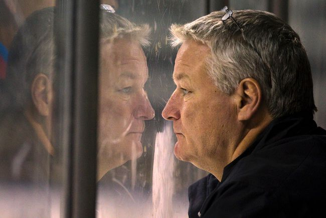 Knights coach Dale Hunter. (Free Press file photo)