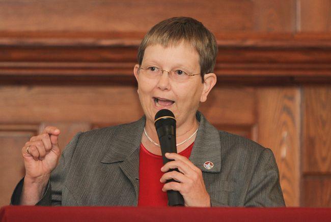 Kingston mayor candidate Dorothy Hector. (Julia McKay/The Whig-Standard)