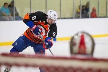 Edmonton Oilers forward Nail Yakupov participates in the Perry Pearn's 3 vs. 3 Hockey Camp at K of C Twin Arenas in Edmonton, Alta., on Thursday, Aug. 21, 2014. Ian Kucerak/Edmonton Sun/ QMI Agency