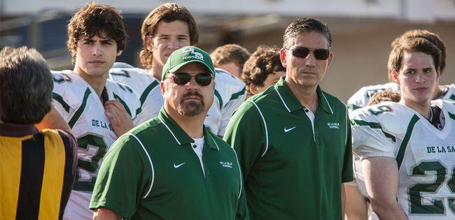 "Jim Caviezel plays legendary high school football coach Bob Ladouceur in ""When the Game Stands Tall"". (Handout)"