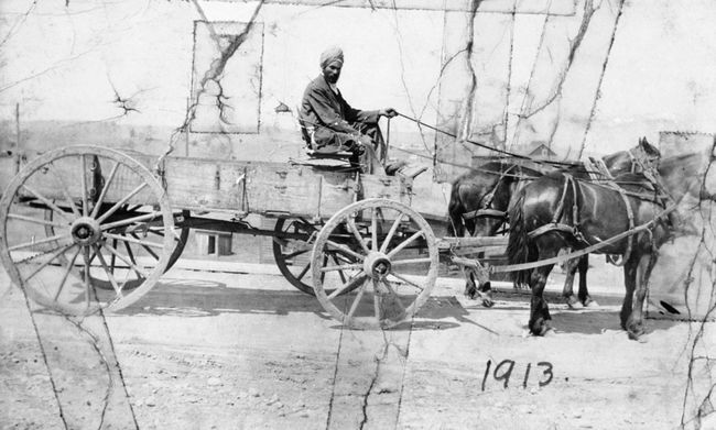 Harnam Singh Hari Alberta's first Sikh
