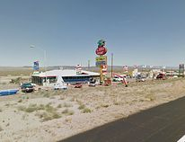 Last Stop shooting range in White Hills, Ariz. (Screenshot from Google Maps)