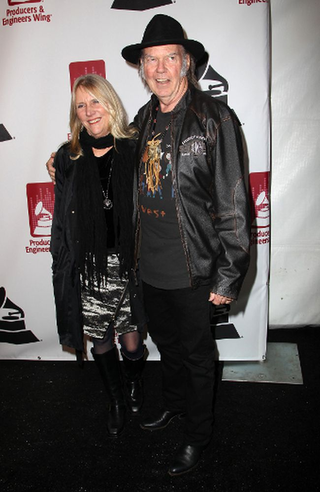 "Neil Young and his wife Pegi. (<A HREF=""http://www.wenn.com"" TARGET=""newwindow"">WENN.COM</a>)"