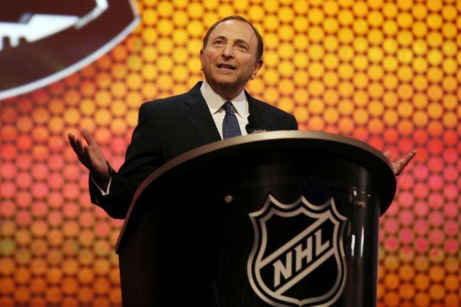 NHL commissioner Gary Bettman. (USA TODAY Sports files)