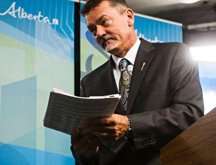 Alberta Finance Minister Doug Horner
