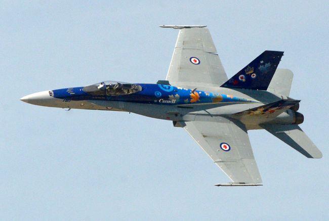CF-18 (Chris Abbott/QMI Agency)