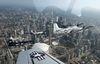 """Skydoc"" Ralph Glasser M.D. pilots his T-28 with The Trojan Horsemen Flight Demonstration Team over Toronto August 28, 2013 ahead of the Toronto International Airshow.  (Dave Abel/Toronto Sun)"