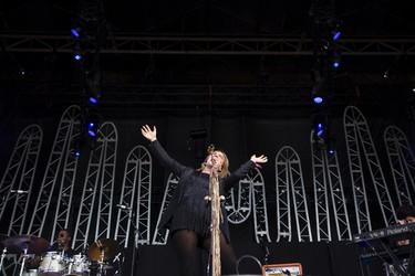 Serena Ryder performs on stage during SONiC BOOM 2014 at Northlands in Edmonton, Alta., on Saturday, Aug. 30, 2014. The multi-artist show runs through Sunday, Aug. 31. Ian Kucerak/Edmonton Sun/ QMI Agency