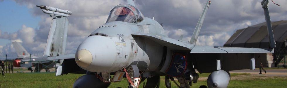 Canadian fighter jet