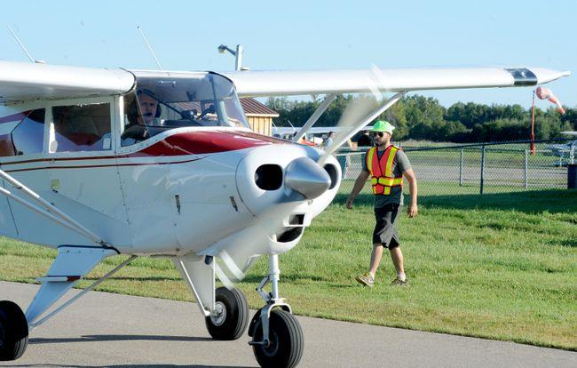 A Piper plane